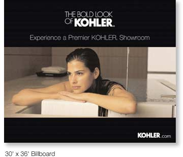 The Bold Look Of Kohler Logotype
