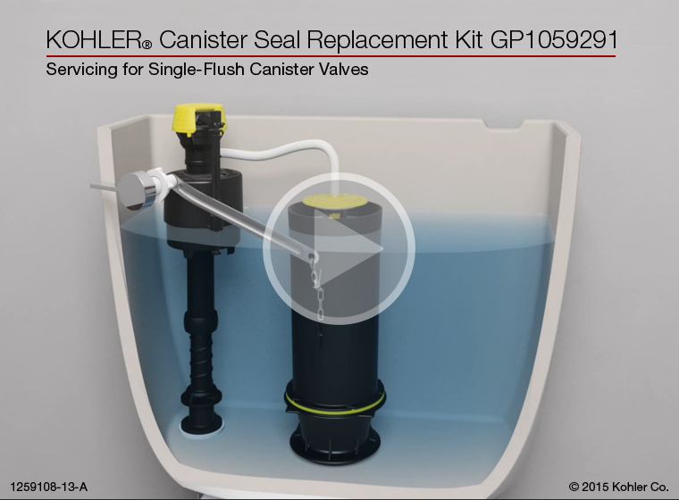 Instructional Video Canister Seal Replacement Kit