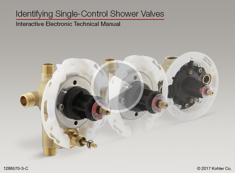 Identifying Single-Control Bath and Shower Valves – KOHLER