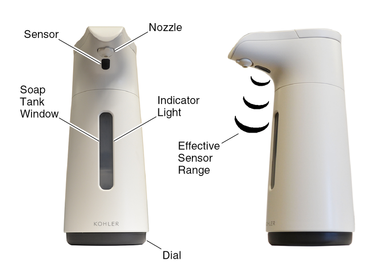 Touchless Foaming Soap Dispenser Troubleshooting Kohler
