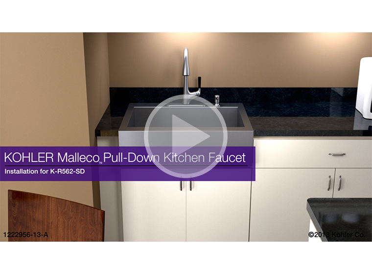 Video K R562 Sd Malleco Pull Down Kitchen Sink Faucet