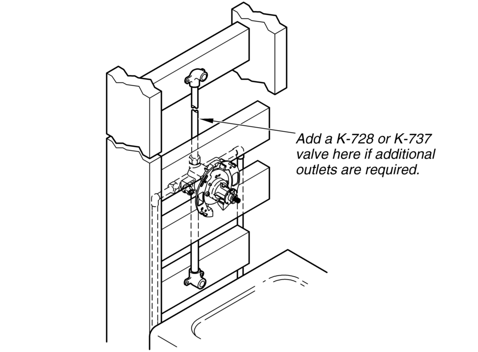 If K 304 Needs Additional Outlets