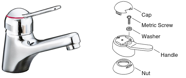 How To Remove Kohler Bathroom Faucet Handle Image Of Bathroom And Closet