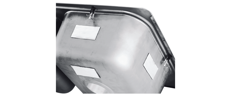 Silentshield Sound Deadening Pads Are Lied To All Sterling And Kohler Kitchen Sinks